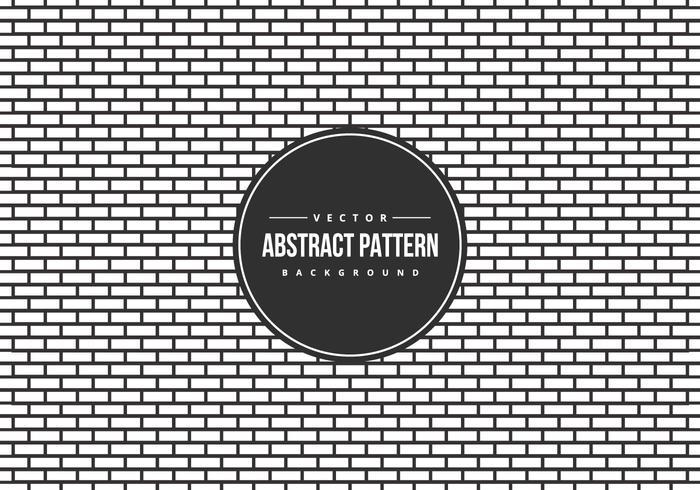 Fondo de patrón de estilo de ladrillo abstracto B / W