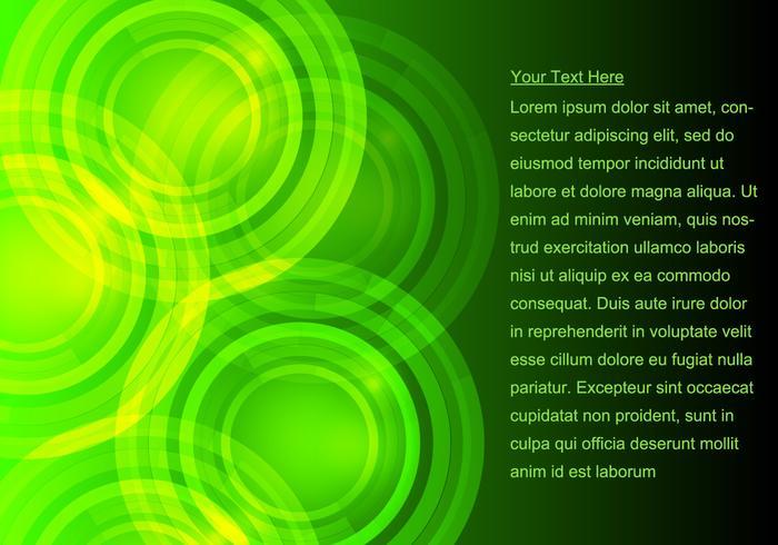Glödande grön bakgrund