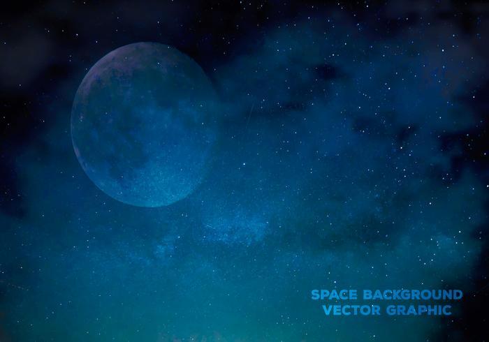 Ilustração vetorial espaço vetor