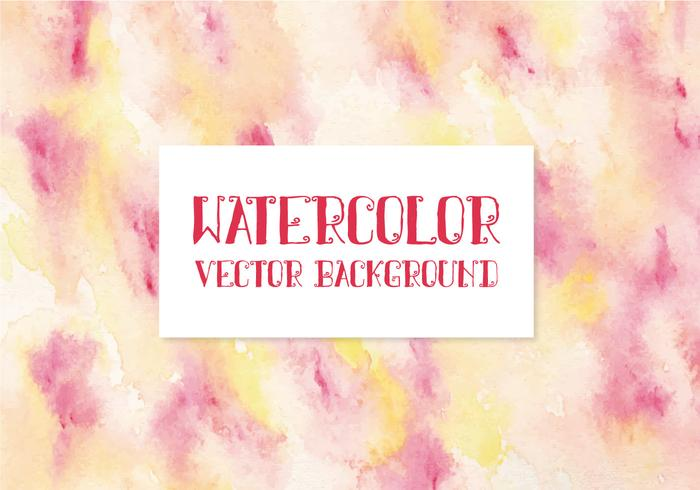 Awesome aquarel Vector achtergrond