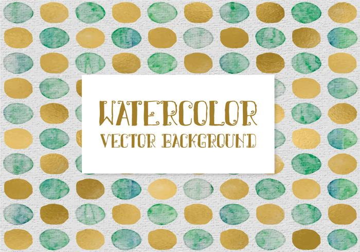 Polka Dot Watercolor Background
