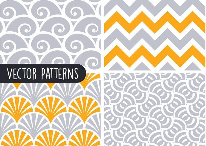 Conjunto de Design de padrão geométrico