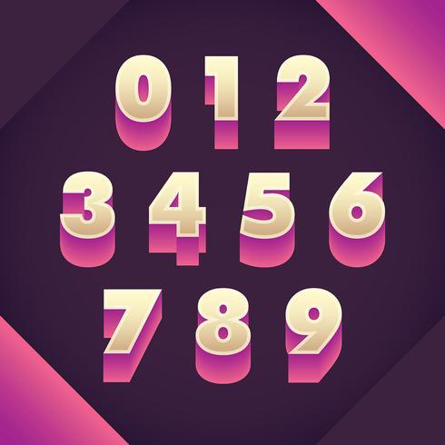 Diseño de numerales