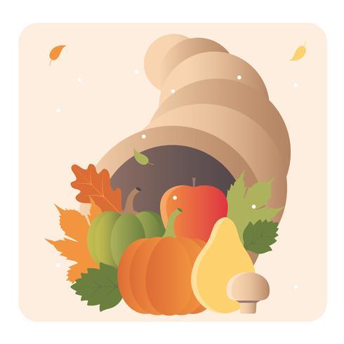 Vetorial, outono, elementos, ilustração