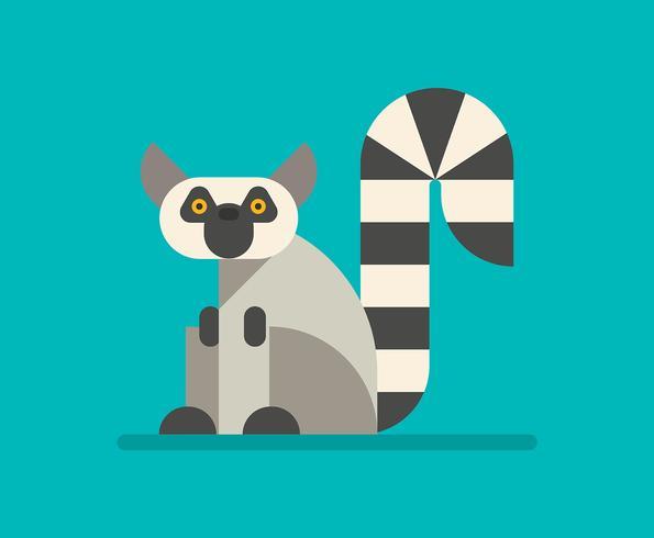 Geometric Simple Shape Animals