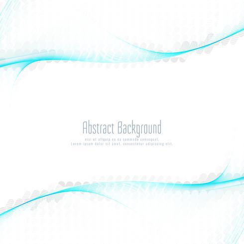 Diseño ondulado elegante moderno abstracto del fondo