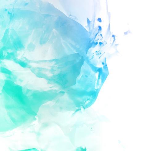 Abstrakt färgrik akvarell fläck design bakgrund