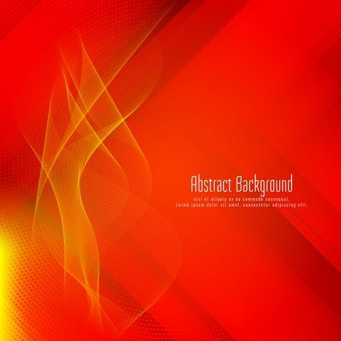 Abstrait moderne élégant géométrique rouge