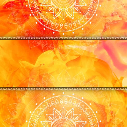 Abstract stylish luxury watercolor background