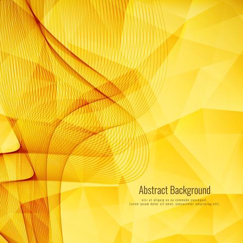 Resumen brillante fondo poligonal ondulado