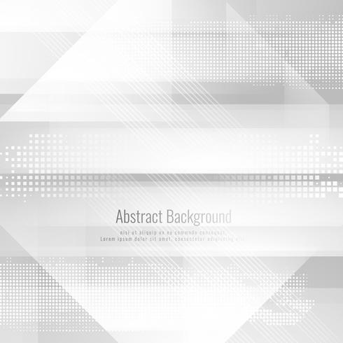 Abstract grey color stylish technology background vector