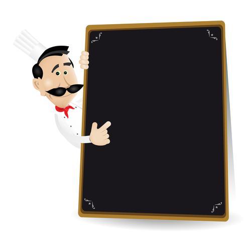 Kockmeny Holding Blackboard Visar dagens special