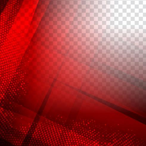 Abstrait polygonale géométrique rouge moderne