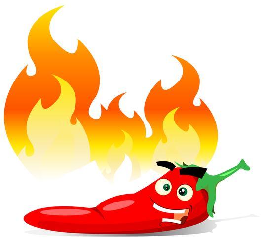 Dessin animé Red Hot Chili Pepper