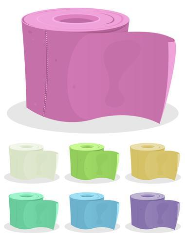 Toiletpapier set vector