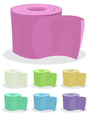 Toilettenpapier-Set vektor
