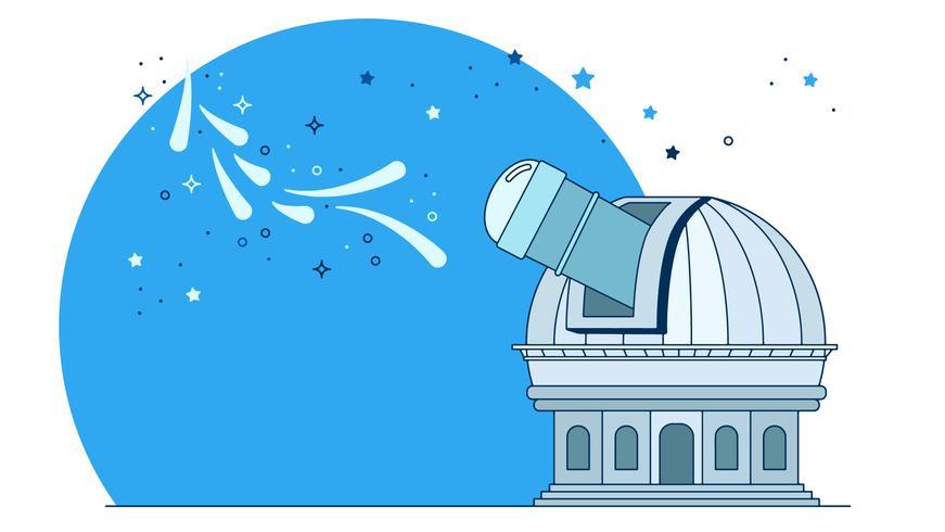 Vecteur de l'observatoire