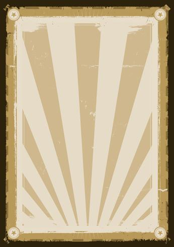 Cooles Weinlese-Hintergrund-Plakat