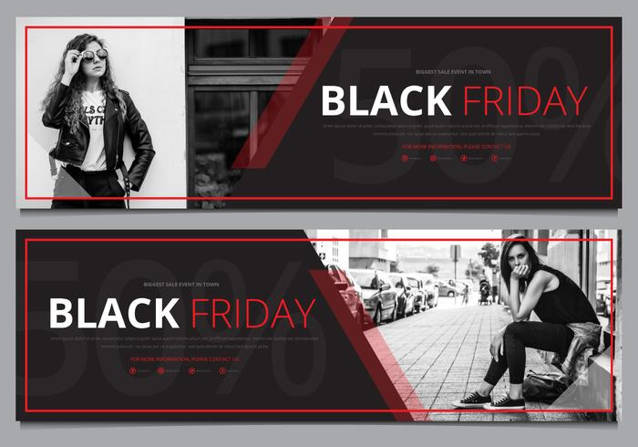 Black Friday Sale Banner Template Mock Up Ready To Use