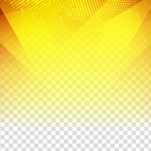 Abstract modern yellow geometric polygonal background