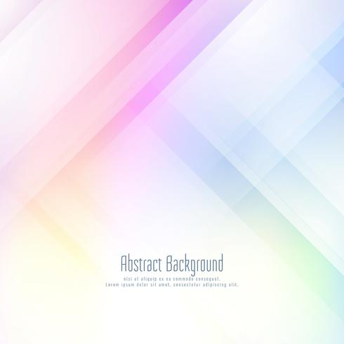 Abstract futuristic geometric colorful background