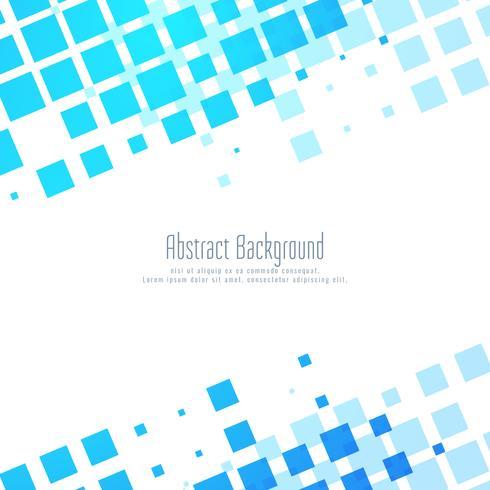 Mosaïque bleue abstrait moderne fond