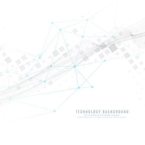 Abstrakter geometrischer Technologiehintergrund