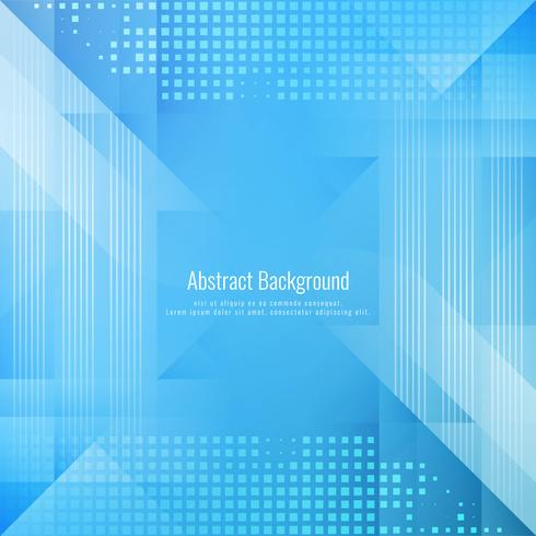 Abstract blue color geometric background