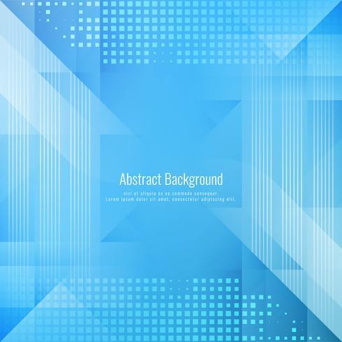 Fundo geométrico abstrato cor azul
