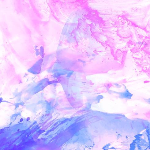 Abstrakt modern färgrik akvarell bakgrund