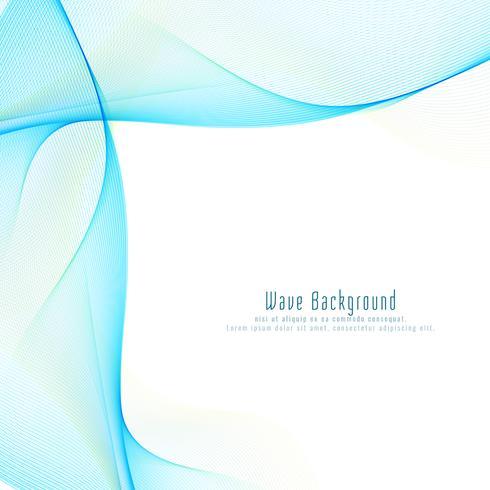 Fundo abstrato moderno onda azul