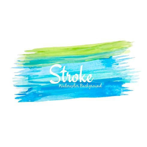 Abstrakt vattenfärg färgglad stroke design bakgrund