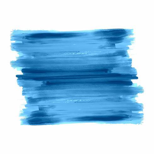 Vecteur de conception de course bleu aquarelle