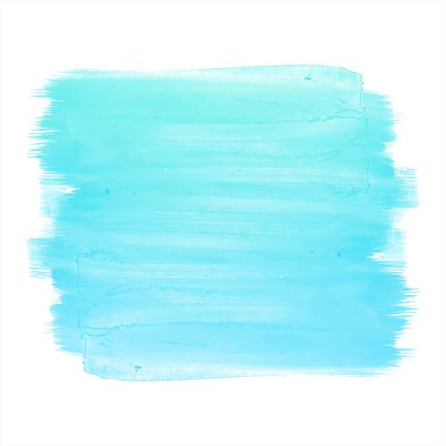 Abstract blue watercolor elegant stroke design