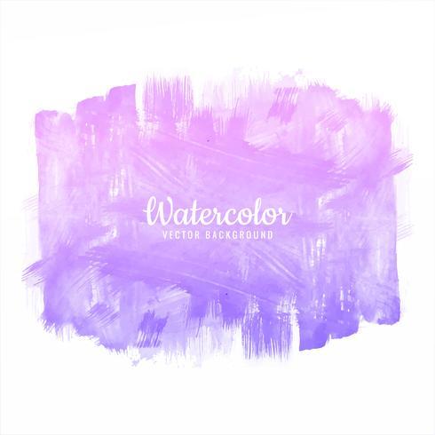 Beautiful watercolor colorful stroke brush design illustration vector