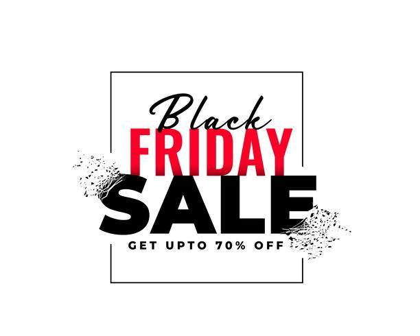 abstracte zwarte vrijdag verkoop banner in explosie stijl