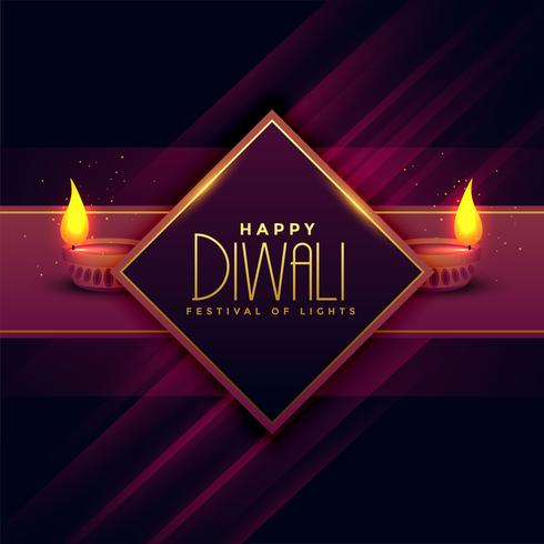 wenskaart ontwerp voor diwali festival