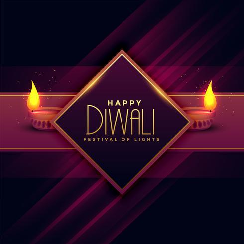 greeting card design for diwali festival