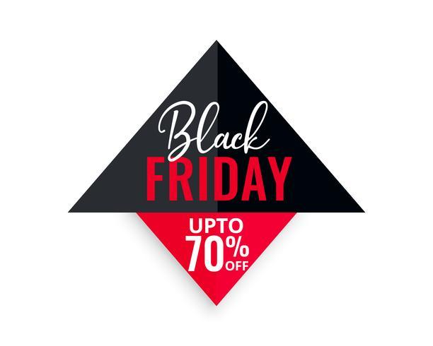 sfondo geometrico di vendita venerdì nero