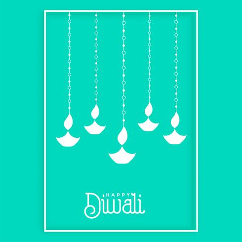 awesome hanging diya design background