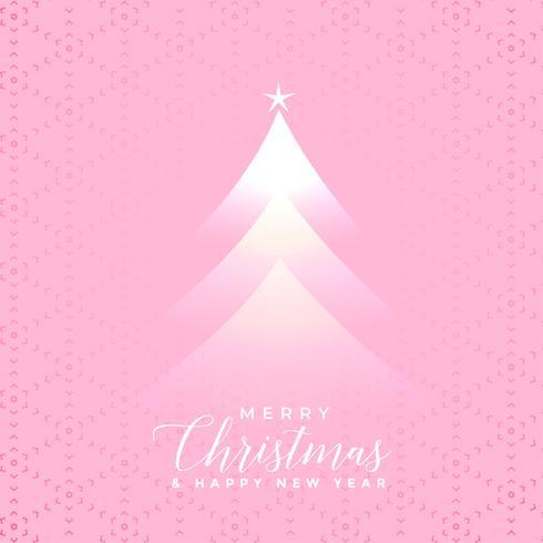 fundo de efeito de luz de árvore de Natal