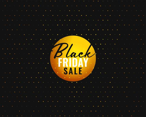 black friday sale banner template in creative style
