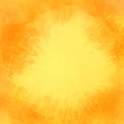 Fondo de textura acuarela abstracta amarilla