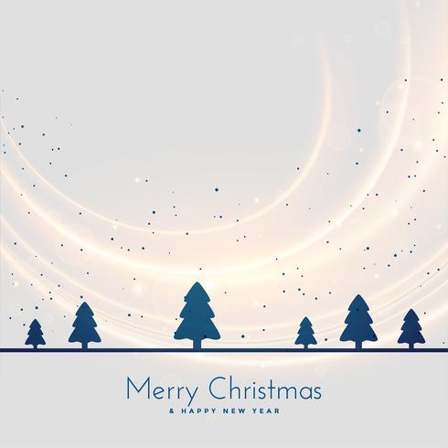 fundo sazonal de paisagem de árvore de Natal