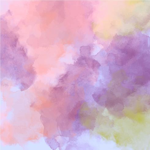 Vector Watercolor Texture Background