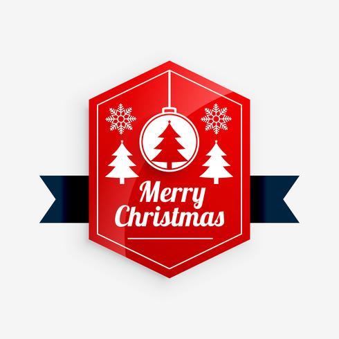 b7818d951fa feliz navidad diseño de etiqueta roja - Descargue Gráficos y ...