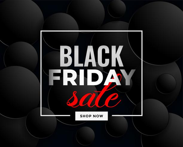 creative black friday sale banner design