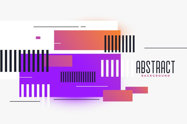 rectangles abstraits formes fond vibrant