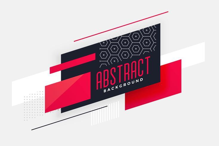 Fondo de diseño abstracto geométrico con estilo