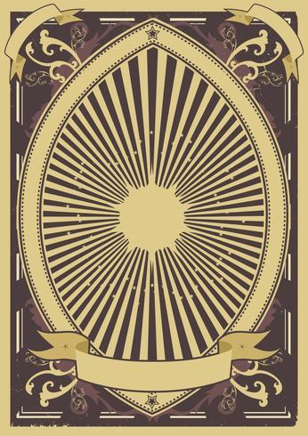 Vintage Poster Hintergrund vektor